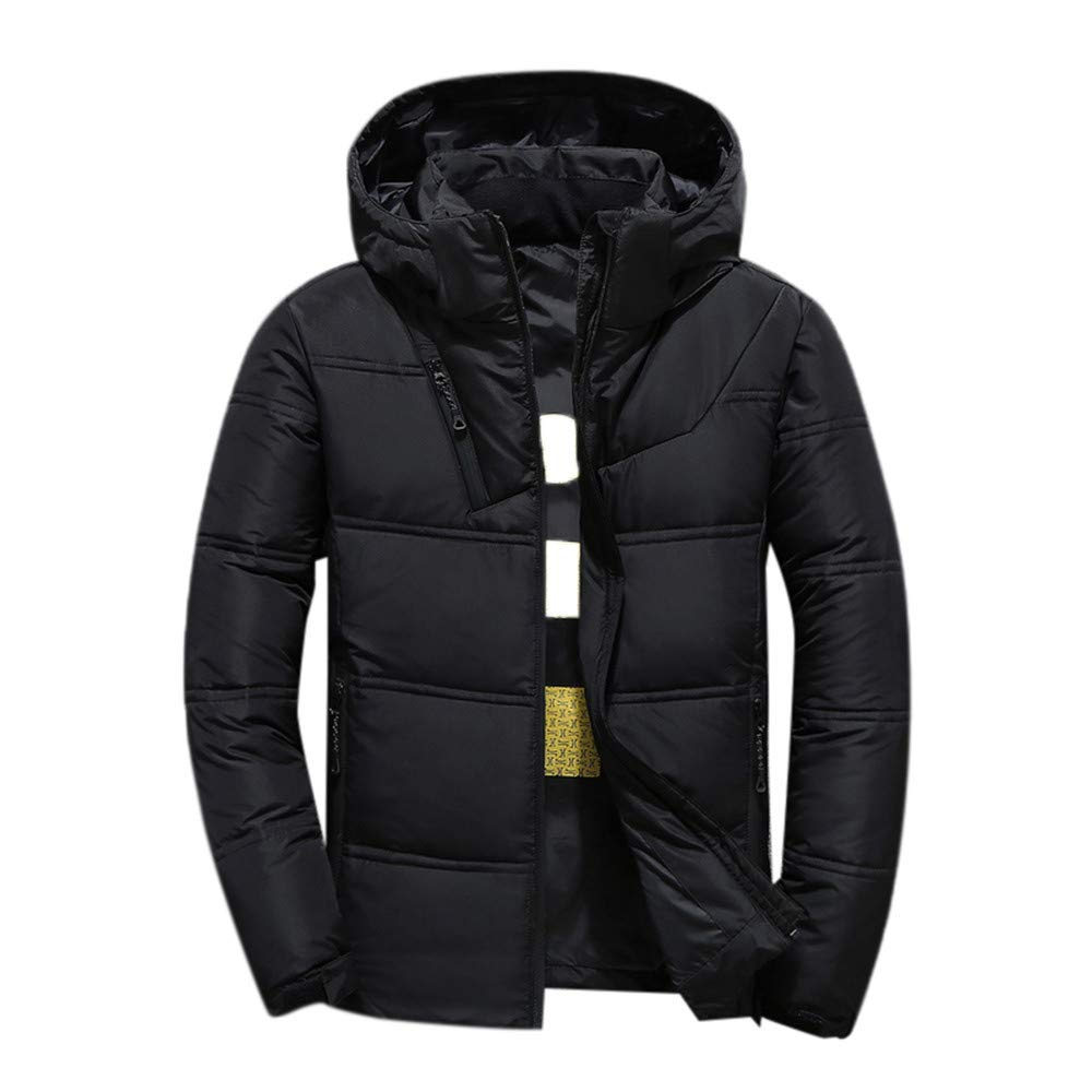 Pandaie-Mens Product Winter Jackets for Men Light Weight. Outdoor Fashion Coat Men's Thickening Slim Jacket