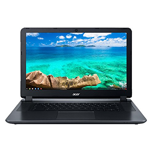 "Acer Flagship CB3-532 15.6"" HD Premium Chromebook - Intel Dual-Core Celeron N3060 up to 2.48GH.z, 2GB RAM, 16GB SSD, Wireless AC, HDMI, USB 3.0, Webcam, Chrome OS (Renewed)"