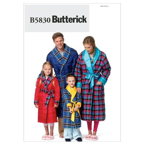 Mccall Pattern Butterick Patterns B5830 Misses'/Men's/Chi...