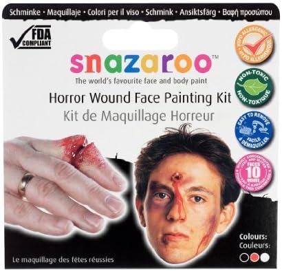 Snazaroo Horror Wound Theme Pack (Maquillaje/ Pintura de Cara ...