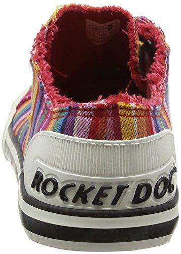 Sneaker Eden Jazzin Eden Stripe Rocket Red Red Mädchen Dog Red Stripe EYwqt