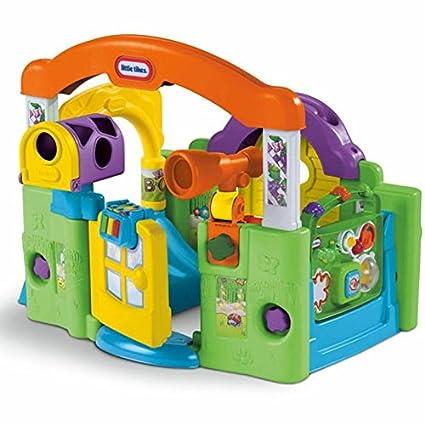 Amazon Com Little Tikes Activity Garden Baby Playset Toys Games