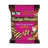 Keebler 21771 Mini Cookies, Fudge Stripes, 2oz Snack Pack, 8 Packs/Box