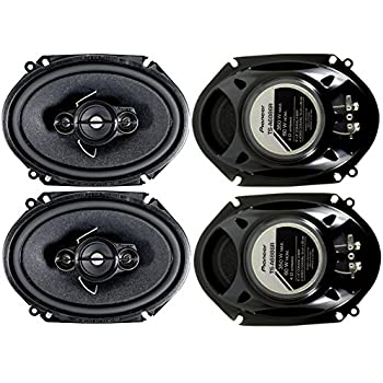 4) Pioneer 5x7 / 6x8 Inch 4-Way 350 Watt Car Stereo Speakers Four | TS-A6886R