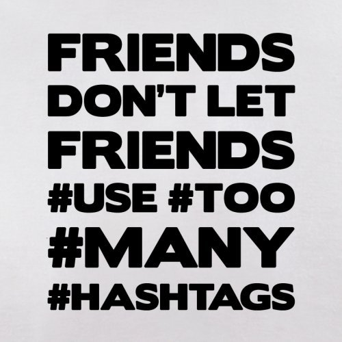 red Let Friends Don't Red Use Hashtags Retro Flight Bag 0TpUq