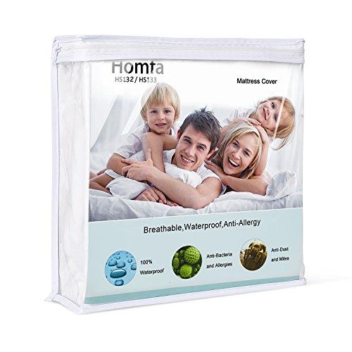 HOMFA Mattress Pad Cover Protector, Premium Hyp...
