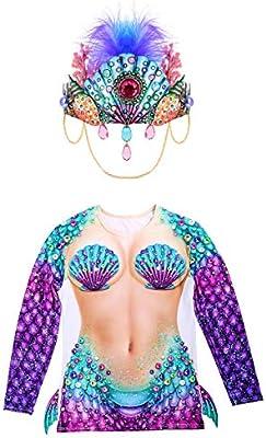 Disfraz de concha de mar para fiesta de disfraces temáticos bajo ...