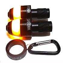 WingLights Mag – Blinker für das Fahrrad - V2.0 - Neue Montagemethode (Schwarz)