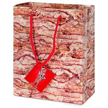 Amazon.com : Bacon Gift Bag : Gift Wrap Bags : Grocery & Gourmet Food
