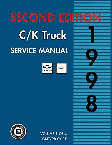 bishko automotive literature 1998 Chevy Lt Duty C/K Truck Shop Service Repair Manual Book Engine Wiring ()