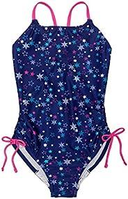 Speedo Girls Thin Strap One Piece Swimsuit