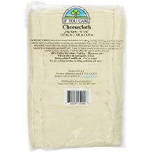 IF YOU CARE 72x36-Inch Cheesecloth, Unbleached, 2 Square Yards, 1 Count