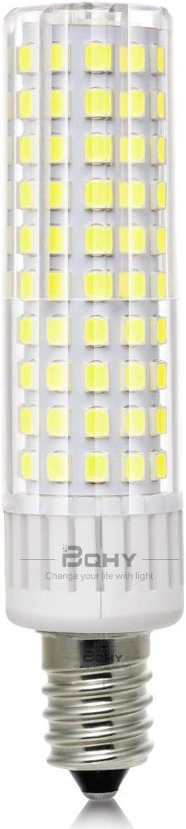 BQHY E14 Bombilla LED Tornillo pequeño Edison, 8.5W (equivalente a 100W), (Luz diurna, 8.5 vatios)