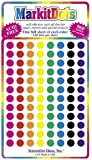 """Map Dot Stickers - Assorted Colors - 1/4"""" Diameter"""