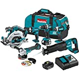 Best Power Tool Combo Kits - Makita XT612M 18V LXT Lithium-Ion Brushless Cordless 6-Pc Review