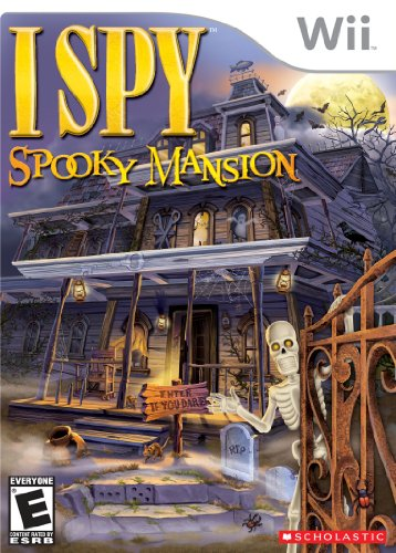 I Spy Spooky Mansion - Nintendo Wii -