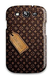 Galaxy S3 Case, Premium Protective Case With Awesome Look - Louis Vuitton Logo