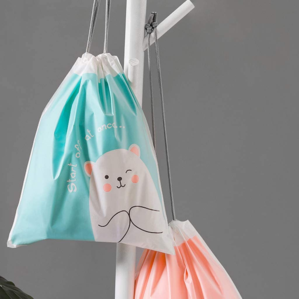 Bolsa de viaje impermeable con cord/ón para ropa interior L02
