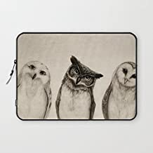 "T18ager Laptop sleeve 10 inch, Water-resistant Neoprene The Owls 9.7"" 10"" 10.1"" 10.2"" Tablet Laptop Sleeve Case Bag Cover for Apple /Ipad/ Samsung /Nexus Google/Android Tablet Notebook Computer"