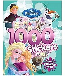 FROZEN 1000 Stickers Book
