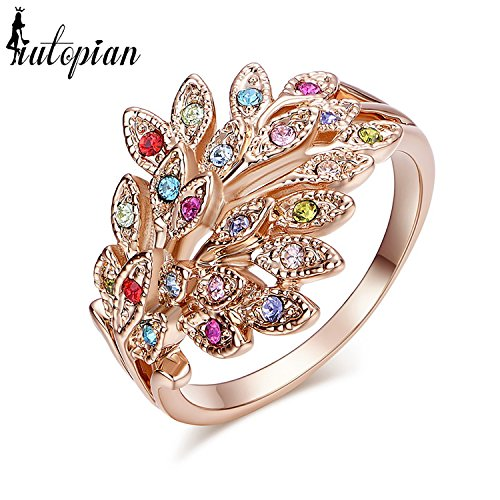 BR-Ring Brand Vintage Retro Opal Ring Anels - Ring 18k Ripka Judith