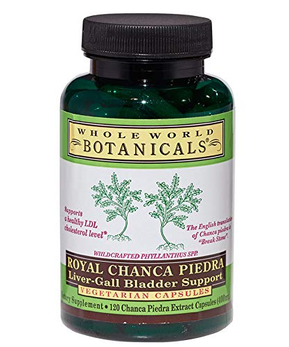 Royal Chanca Piedra (Formerly Royal-Break Stone) Liver, Gall Bladder Support, 120 Caps by Whole World Botanicals