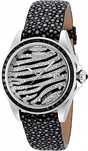 Invicta Women's Speedway Swiss Quartz Model 19499 Spinel and Diamond Watch