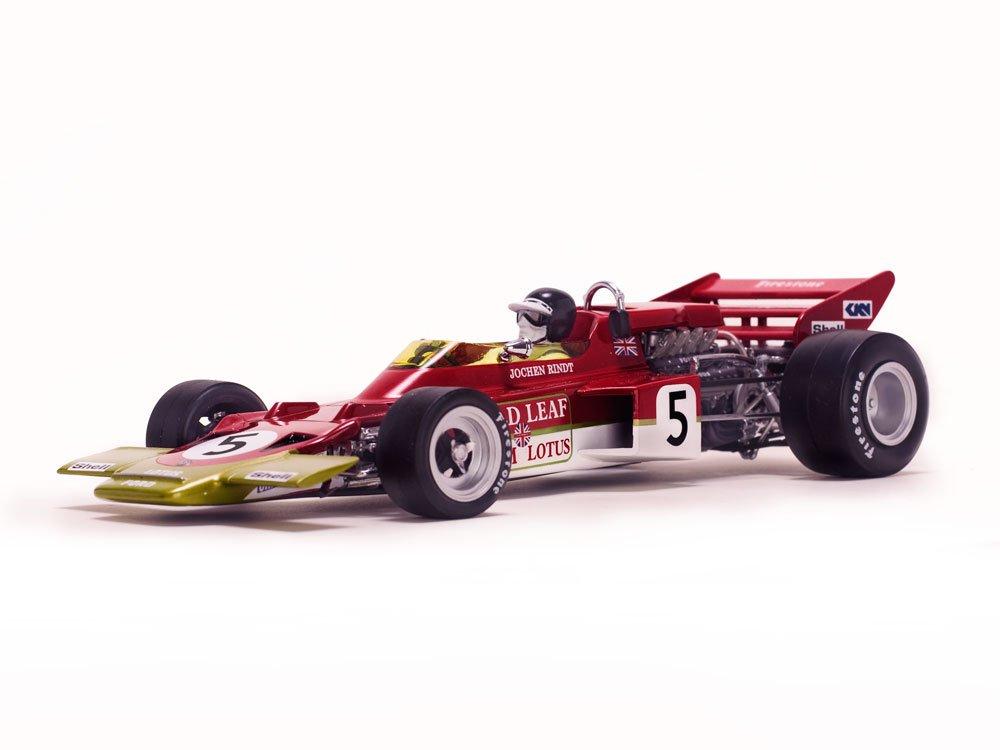 Unbekannt QUARTZO – 18276 – Fahrzeug Miniatur – Lotus 72 C – GP Großbritannien 1970 – Echelle 1/18, rot/Gold