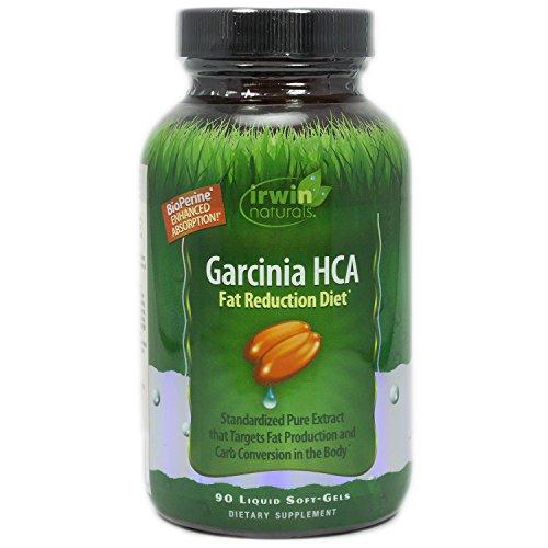 Irwin Naturals, Garcinia HCA Fat Reduction Diet, 90 Count