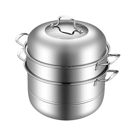 Vapor de 3 niveles Sartén de vapor Conjunto de vapor de acero ...