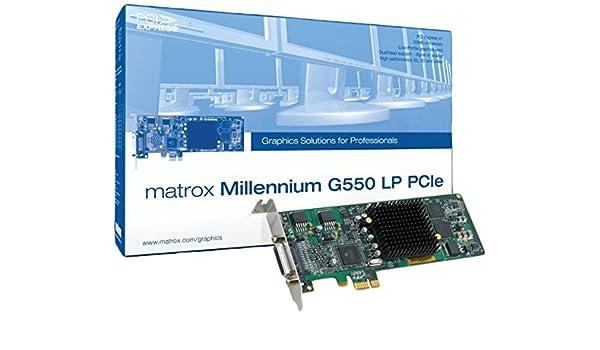 Matrox G55-MDDE32LPDF - Tarjeta gráfica (2048 x 1536 Pixeles ...
