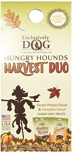 Variety Fall Harvest - Exclusively Dog 08006 Hungry Hounds Harvest Duo Fall Variety, 14 oz