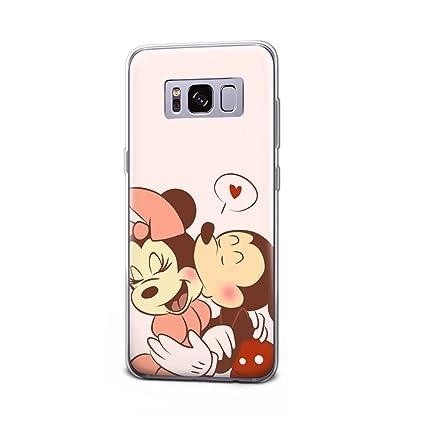 Amazon.com: gspstore Galaxy S7 caso dibujos animados Mickey ...