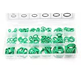 270 Piece O Rings Seal Gasket Washer Assortment Set Kit, COPACHI Rubber O-Ring Grommets Heavy Duty Professional for A/C Automotive, Mechanic,Tools & Home Repairs-18 Sizes with Case