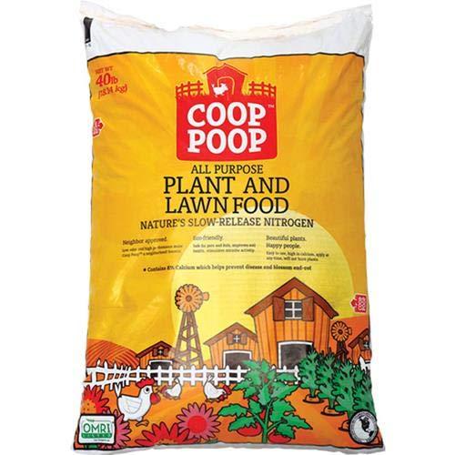 PEARL VALLEY ORGANIX HGR243CP40 Coop Poop Garden Food, 40 lb. (Coop Chicken Garden)