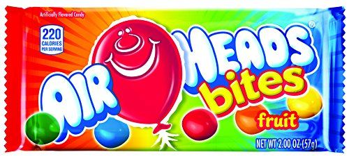 Airhead Bites Fruit Flavored Candy, Stocking Stuffer, Gift,
