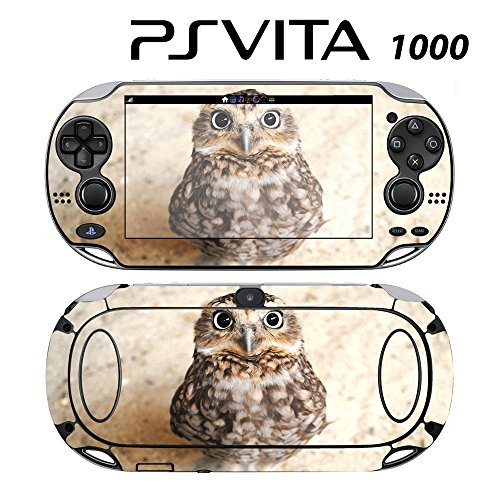 Decorative Video Game Skin Decal Cover Sticker for Sony PlayStation PS Vita (PCH-1000) - Cute Baby Owl -  Decals Plus, PV1-AN24