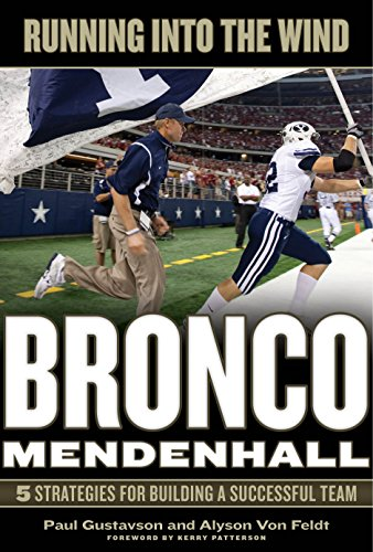 Running into the Wind: Bronco Mendenhall-5 Strategies for Building a Successful Team
