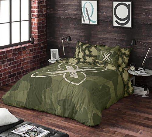 Munich Ares Funda Nórdica, algodón, Verde, Cama 90 cm: Amazon.es: Hogar