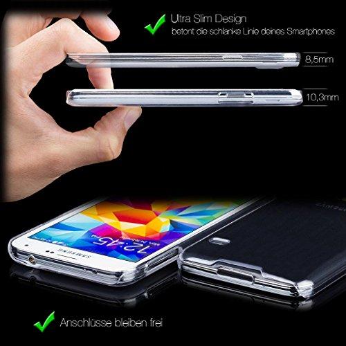 iCues Apple iPhone 6S / 6 |  Ultra Slim Case Klar | [Display Schutzfolie Inklusive] Extra Leicht sehr Dünn Transparent Klarsichthülle Durchsichtig Klare Klarsicht Schutzhülle Hülle Cover Schutz