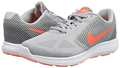 Manga cocaína literalmente  Buy Nike Women's WMNS Revolution 3 Wolf Hyper Orange/Cool Grey Running Shoes  (819303-002) at Amazon.in