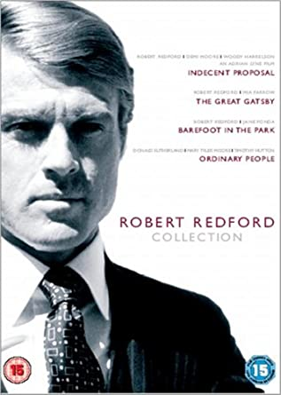 Robert Redford Collection Indecent Proposal The Great Gatsby