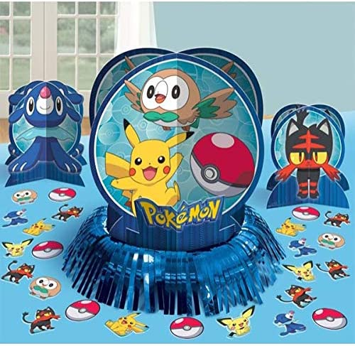 Amazon.com: cubeta de fiesta Pokemon Kit para decoración de ...
