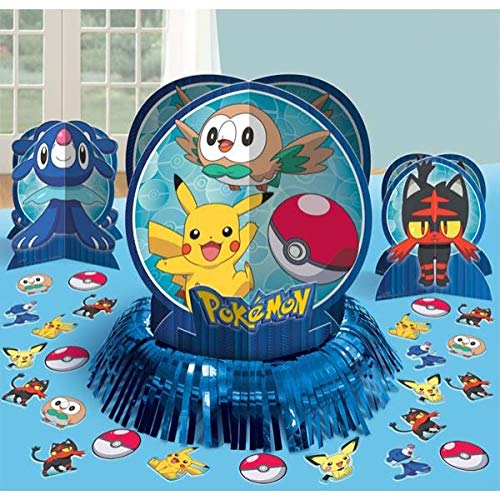 Party Pail Pokemon Table Decorating Kit, Multicolor]()