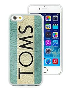 New Custom Designed iPhone 6 4.7 Inch TPU Phone Case With TOMS White Phone Case