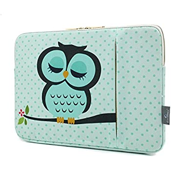 35bc56d0f1ed CoolBELL 15.6 Inch Laptop Sleeve Case Cover with Cute Owl Pattern Laptop  Sleeve Bag for Laptop Like MacBook Pro/MacBook Air/Acer / Asus/Dell / ...
