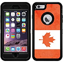 Vintage Flag Of Canada design on Black OtterBox Defender Series Case for iPhone 6 Plus and iPhone 6s Plus