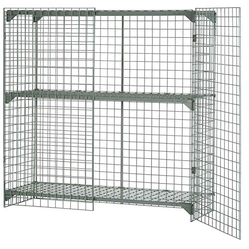 (Wire Mesh Security Cage, 48 x 24 x 48, Lot of 1)