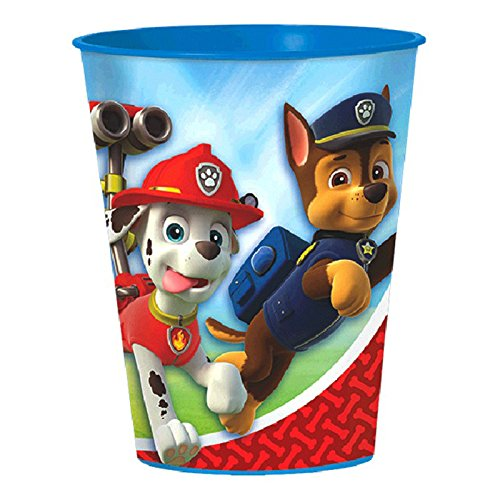 16oz Paw Patrol Puppy Pets Birthday Party Plastic Loot Treat Favor Cup