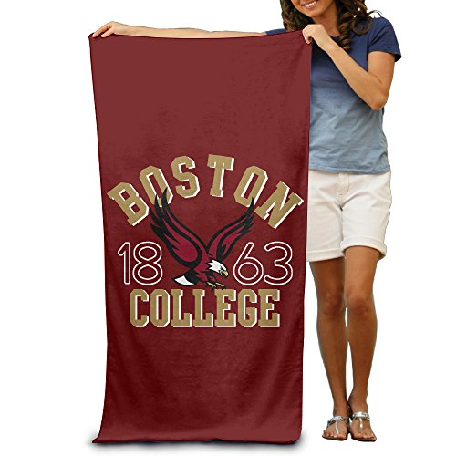 "BC Boston College Eagles Charcoal Arch Over Logo 31.5""51""Pool Beach Towel"
